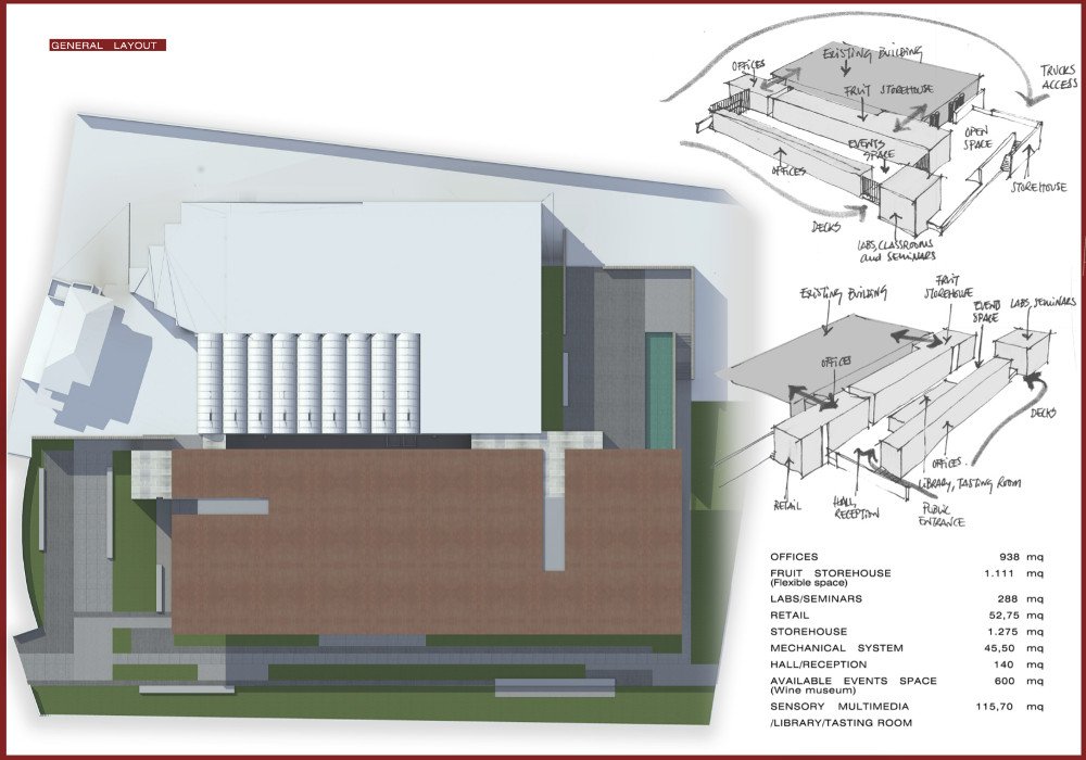 CONCORSO WINE CULTURE CENTER - YOUNG ARCHITECTS COMPETITION 2